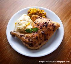 Slow Cooker Chicken Leg Quarters Recipe | crock pot ...