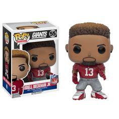 Funko NFL New York Giants POP Odell Beckham JR Vinyl Figure - Radar Toys