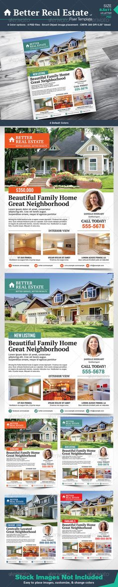 Better Real Estate Flyer Template v2