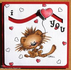 Valentine spinner card by Milawi - Cards and Paper Crafts at Splitcoaststampers