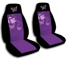 2 Front Black and Purple seat covers with Butterflies for a 2011 to 2012 Hyundai Elantra Sedan. Side airbag friendly. Designcovers http://smile.amazon.com/dp/B00910RWCY/ref=cm_sw_r_pi_dp_HI5Mub1N32NX9