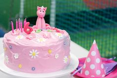 Edible flowers, glitter and a pink unicorn take it over the edge!