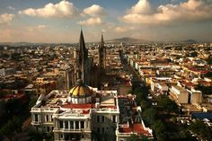 *Guadalajara is the capital of the Mexican State of Jalisco *It was founded on February 1542 *It is the second most populated city in Mexico The Places Youll Go, Places To See, Riviera Nayarit, Mexico Travel, Mexico City, Travel Pictures, American, Places To Travel, Beautiful Places
