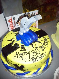 Brian's birthday cake!