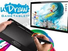 Move over Van Gogh!  This uDraw Gametablet with uDraw Studio just sold for $5.42 on Beezid.com