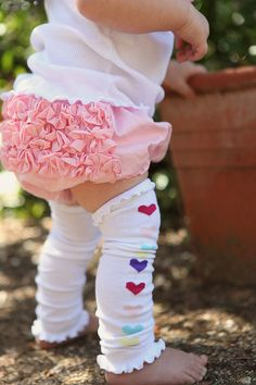 Ruffle Butts Ruffle Bloomer Diaper Cover Pink – Accessories by Me
