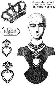 Paris Flea Stamp Set 1