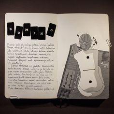 From sketchbook of Petri Fills Sketching, Drawings, Sketches, Drawing, Sketch, Portrait, Draw, Tekenen, Grimm