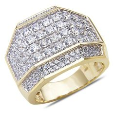 Men's 2 3/4CT Diamond Fashion Ring in 14k Yellow Gold with a Cage Back, http://www.amazon.com/dp/B00HFXWZ0S/ref=cm_sw_r_pi_awdm_7dHHvb1X9GMHC