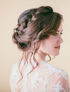 Bohemiam Wedding Hairstyles with Simple Braids | Best Wedding ...