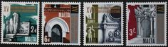 15th International historical architecture congress stamps, Malta, 1967, MNH