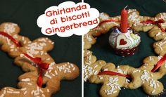 Ghirlanda di Biscotti Gingerbread   Christmas cookies Garland