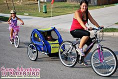 #ad Bike riding with my kids is my new favorite activity. I feel like a kid again!