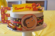Curious George Birthday Party Ideas | Amanda's Annotations: Trey's Curious George 2nd Birthday Party!