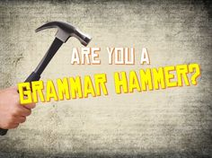 I got: 'You Are 100% Grammar Hammer! ' on 'Are You A Grammar Hammer? ' http://www.playbuzz.com/joshkennedy10/are-you-a-grammar-hammer via @play_buzz