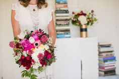 Florals by April Flowers. Photo by Cameron Ingalls. Lisa Leonard Designs styled shoot.