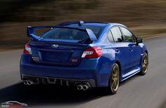 Subaru WRX STI 2015 (for the first time i doubt between Mitsubishi Lancer Evolution and Impreza)