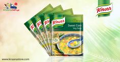 #Knorr #Sweet #Corn #Veg #Soups 45GM @ Rs. 50/- at Kiraanastore.com. Get Best Price for All Grocery Items.