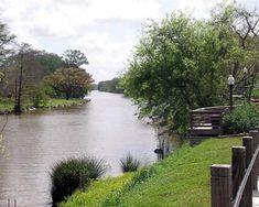 Bayou Teche is a 125-mile long waterway in LA