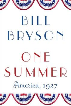 "Juliana recommends One Summer: America 1927 by Bill Bryson. She says: ""Though decidedly not Christmas related in any way, this latest book by Bill Bryson doesn't disappoint and is a great, easy read for the holiday break. Fascinating and gently humorous, One Summer is an intriguing look into our recent history. Meet America in the roaring 20s!"""