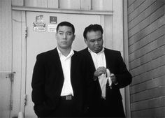 Yakuza wear clothing reminiscent of American gangsters of the 1920's and 1930's