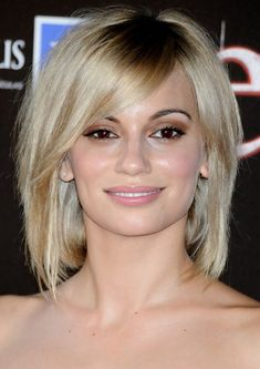 short hairstyles with a fringe