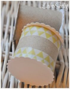 Finally found a way to organize all my ribbons - a fun and easy DIY ---- Einfache Bänderhalter, schnell gebastelt