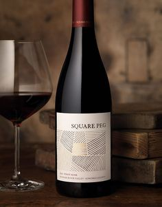 CF Napa Brand Design - Square Peg Wine Label and Package Design