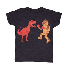 Image of Dino vs Robot - KIDS Tee