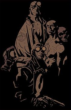 Hellboy & Lobster Johnson by Mike Mignola