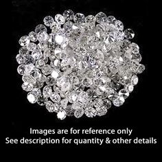0.12 ct White Colour Round Cut Natural Real Loose Diamond Lot #Affinityjewelry