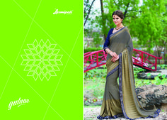 Browse the Multicolor georgette designer resham thread work saree along with Navy Blue Color Pashmina Blouse with Fancy Lace Border online at www.laxmipati.com #Catalogue #GULNAR Price - Rs. 2231.00 Visit for more designs@ www.laxmipati.com  #GaneshChaturthi #GaneshChaturthi2016 #Ganesh #monsoon #Shopping #Shoppingday#ShoppingOnline #fashionstyle #ReadyToWear #OccasionWear #Ethnicwear #FestivalSarees #Fashion#Fashionista #Couture #LaxmipatiSaree #Autumn #Winter #Women #