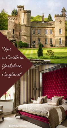 rental house, castle for rent, Yorkshire England, rental accommodation, luxury rental accommodation