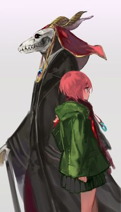 Mahou Tsukai no Yome (The Ancient Magus' Bride) Image - Zerochan Anime Image Board Manga Anime, Anime Art, Chibi, Elias Ainsworth, Chise Hatori, Sailor Moon, Geeks, The Ancient Magus Bride, Otaku