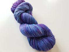 Galaxy sock yarn - hand dyed yarn.