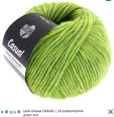 Lana Grossa Casual Fleece yarn mix from merino wool and baby alpaca; 54% мерино экстрафайн, 23% альпака, 23% полиамид; 125 м/ 50 г, спицы 6 мм