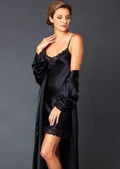 63a3bf12b5 Indulgence Silk Chemise - Elegant Silk Nightgown