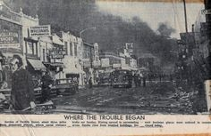 12th St Detroit Riot,  July 1967