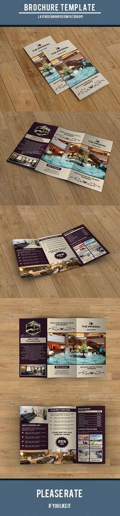 Clean Restaurant Brochure Brochures, Brochure template and - restarunt brochure
