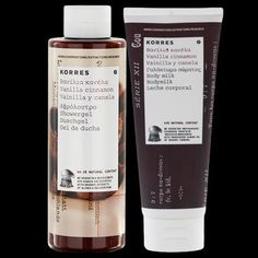 Pin for Later: All the Fun of Ice Cream Without the Calories Korres Vanilla Cinnamon Shower Gel and Body Milk Duo Korres Vanilla Cinnamon Shower Gel and Body Milk Duo (£14)