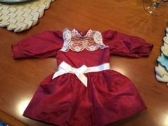#American girl pleasant company #samantha christmas cranberry #dress - retired,  View more on the LINK: http://www.zeppy.io/product/gb/2/262706828066/