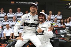 AP                  Published 5:47 a.m. ET April 14, 2017 | Updated 4 hours ago        FILE – This is a Friday Oct 7, 2016  file photo of McLaren driver's Jenson Button, left, of Britain and Fernando Alonso of Spain as they pose for a photo with their team in front of...  http://usa.swengen.com/point-seeking-button-replaces-alonso-at-monaco-grand-prix/