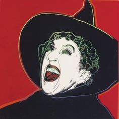 Andy Warhol - Margaret Sullivan as the Wicked Witch of the West, 1985
