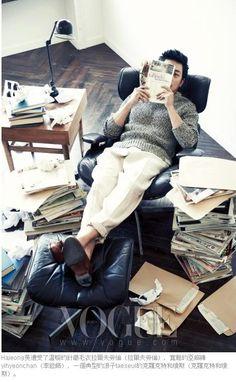 Ha Jung-woo // Vogue Korea