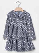 Gap babyGap + Peanuts® dot chambray dress