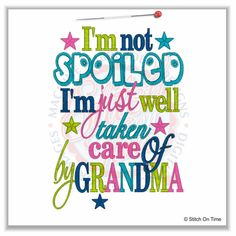 Mamaw, Nana, Grandma Quotes And Sayings Quotes About Grandchildren, Grandkids Quotes, Happy Birthday Grandma, Image Citation, Grandma Quotes, Grandma And Grandpa, Grandma Onesie, Thing 1, Love You
