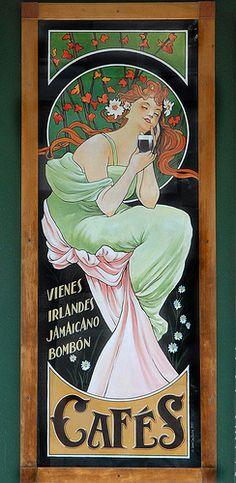 art nouveau posters | Art Nouveau poster Art Nouveau Design
