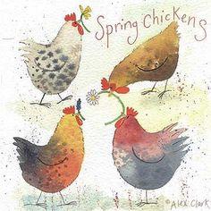 'Spring Chickens' by Alex Clark (E028)