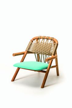 Le mobilier Outdoor Lounge armchair Unam, Sebastian Herkner (Very Wood)