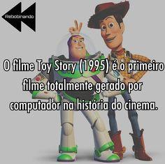 #Disney como sempre revolucionando! #Pixar #ToyStory #curiosidades #cinema #cinefilos #filme